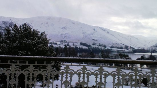 Macdonald Leeming House, Ullswater: And view from Room 6 - early Sunday morning!