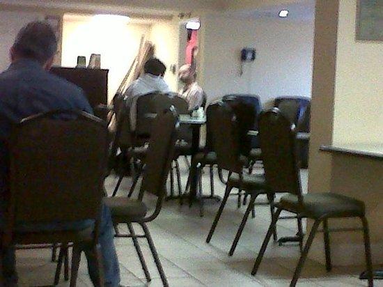 La Quinta Inn Chattanooga: Breakfast and front desk area
