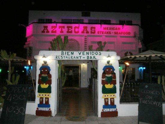 Aztecas Mexican Restaurant : aztecas
