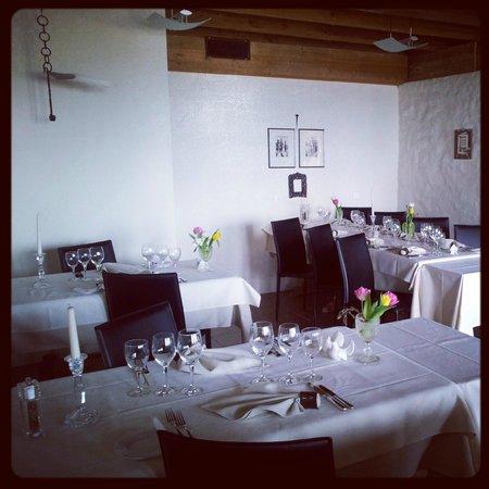 Hotel-Restaurant Mont-Vully : Restaurant