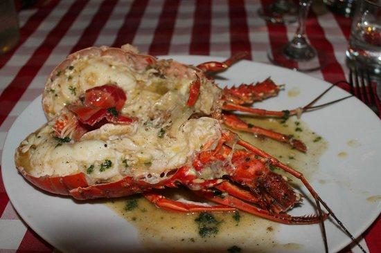Restaurant La Cueva : Aragosta all'aglio