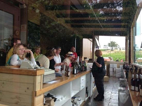 Fergusson Winery & Restaurant: wine taste