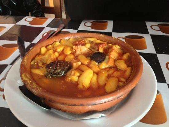 Sidreria El Asturiano : Fabada.