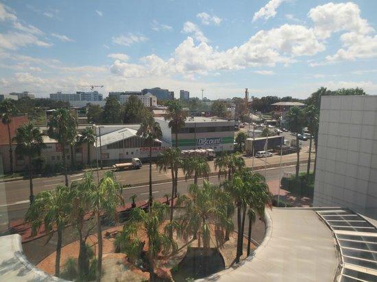 Stamford Plaza Sydney Airport: Blick aus dem Fenster