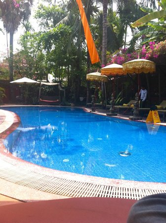Bopha Siem Reap Boutique Hotel : small but lovely