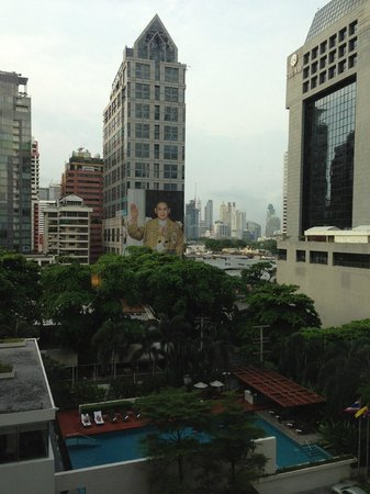 COMO Metropolitan Bangkok: View from our room
