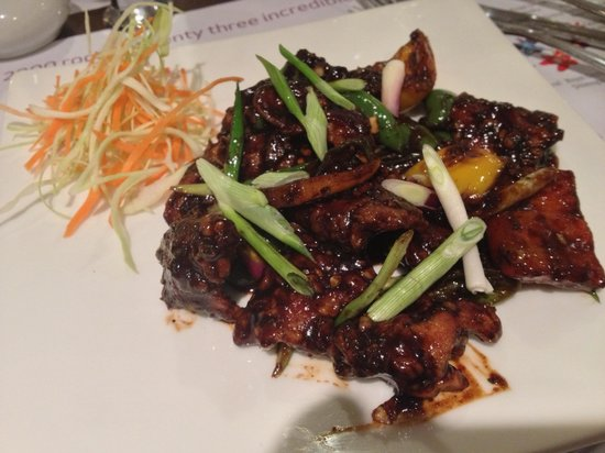 Royal Orchid Suites: Very nice spicy food, if you like that!