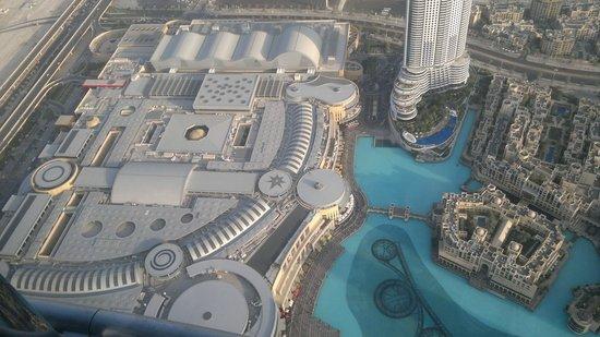 Vista Della Piscina Burj Khalifa Dall 39 Alto Foto Di Burj