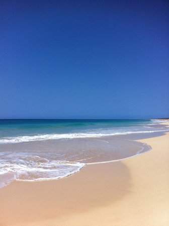 Hotel Riu Touareg : Awesome beach