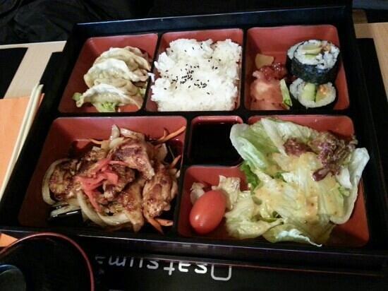 Satsuma: chicken teriyaki meal