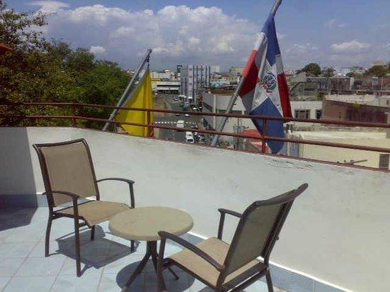 Hotel Discovery: terrazzo sul tetto