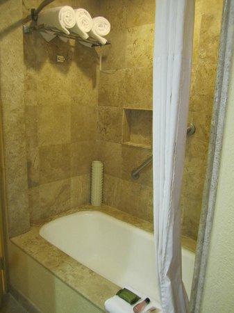 Fiesta Americana Veracruz : Bathtub (big thick towels!)