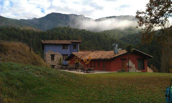 Hotel Monegal: Llegando andando al hotel desde el pueblo de Sant Llorenç