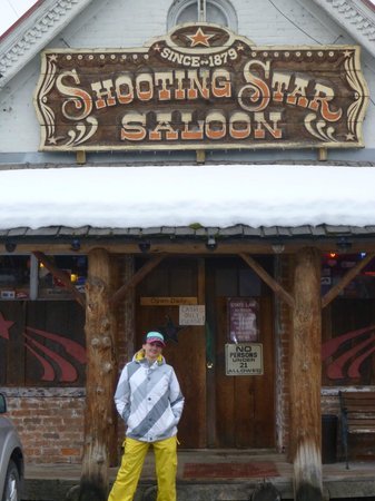 Outside of shooting star saloon