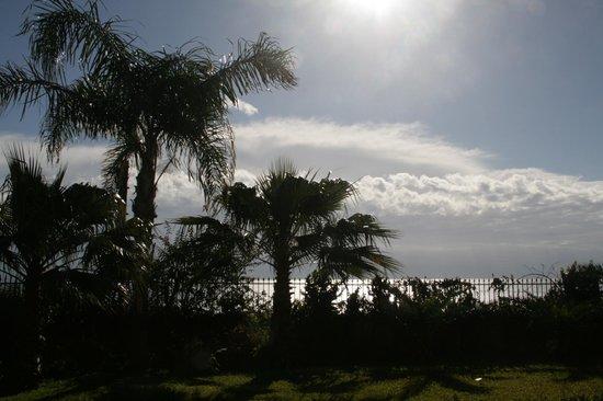Santa Caterina Hotel: Blick von der Terrasse vor unserem Zimmer