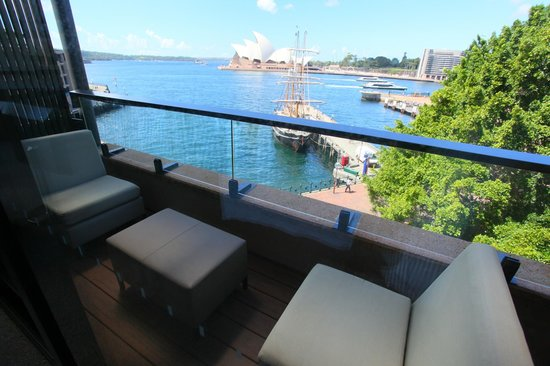 Park Hyatt Sydney: View from balcony