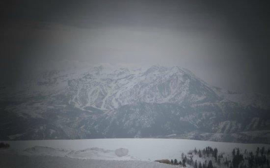 Powder Mountain SKi Resort: Beautiful view from powder