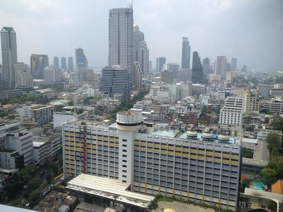 Pullman Bangkok Hotel G: view from our room