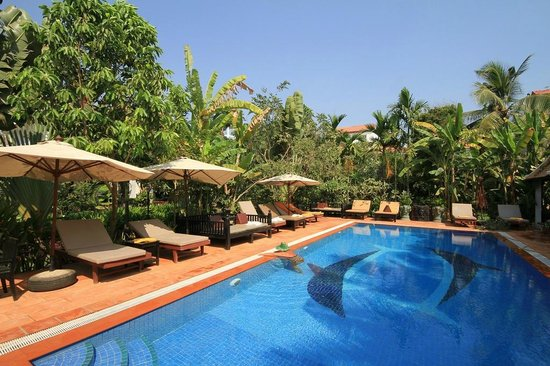 Sonalong Boutique Village & Resort : Nice pool in a beautiful garden.