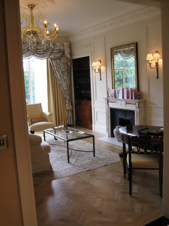 Stylish sitting room - Picture of The Savoy, London - TripAdvisor
