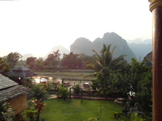 The Elephant Crossing Hotel : vue de la chambre