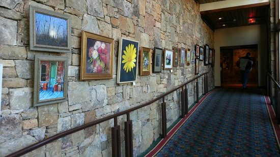 Brasstown Valley Resort & Spa: original artwork on display and for sale