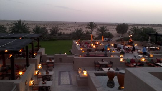 Bab Al Shams Desert Resort & Spa: View from roof restaurant