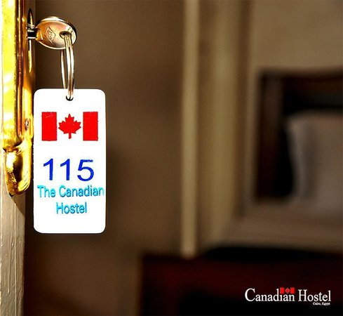 Canadian Hostel: hostel key