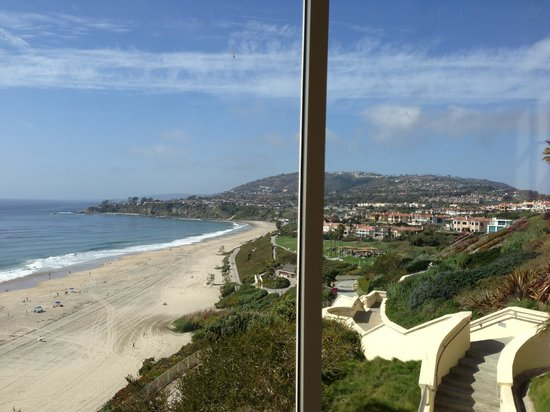 The Ritz-Carlton, Laguna Niguel: View from treadmill