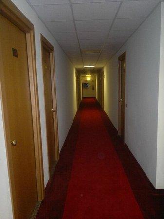 Hotel Erbaluce: corridoio stanze