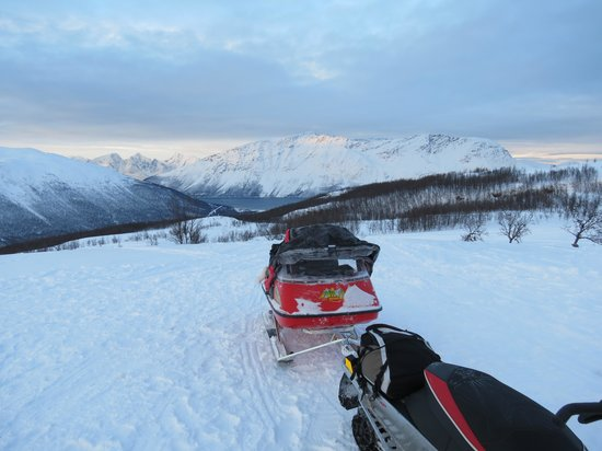 Nordreisa Municipality, Norway: snowmobile