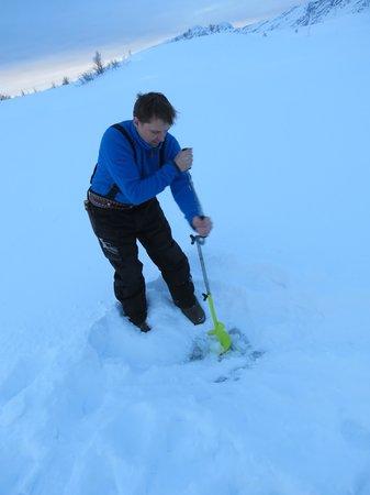 Коммуна Нородрейса, Норвегия: icefishing