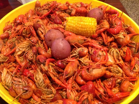 Boiled crawfish - Picture of Crawdaddy's Kitchen, Shreveport ...