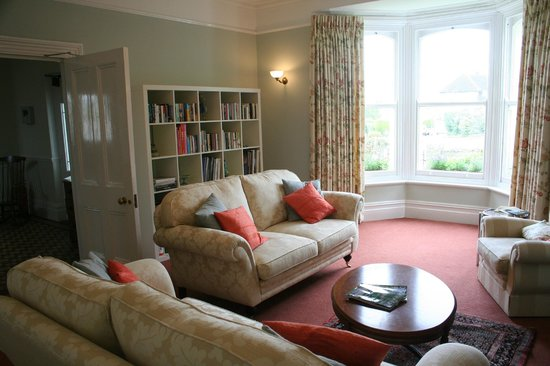 Guest Lounge at Swan Hill House B&B