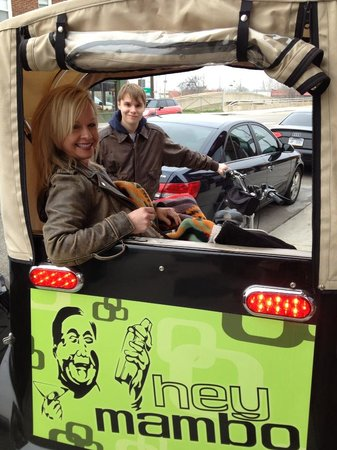 Tulsa Pedicabs Restaurant Tours: A great way to see downtown and enjoy dinner before a concert