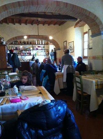 La Bottega di Volpaia : gezellige ongedwongen sfeer en goed eten