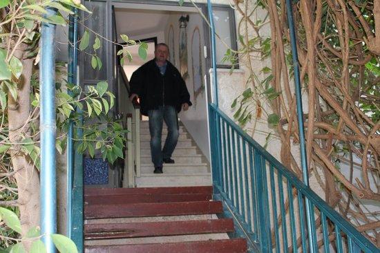 Arbel Guest House Shavit Family: Indgangen