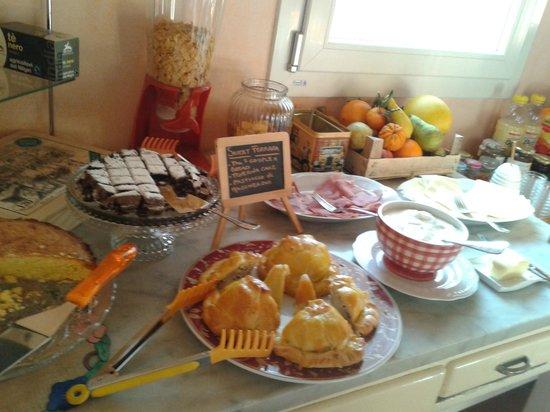 Ai Frutti di una Volta: ein Teil des Frühstücks
