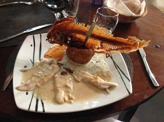 Restaurant Cidrerie Auberge du Chapelet : sole