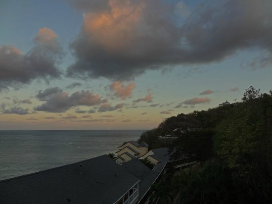 BodyHoliday Saint Lucia: early morning view from my room 7th floor