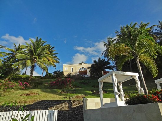 BodyHoliday Saint Lucia: Spa up on the hill