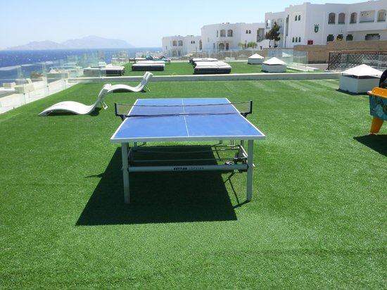 Sunrise Grand Select Arabian Beach Resort: Games area