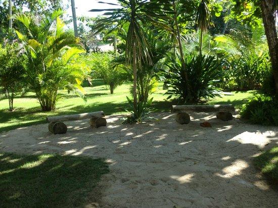 Hotel Pousada Tatuapara: Em frente à pousadinha
