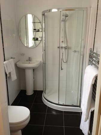 Malone Lodge Hotel & Apartments: clean bathroom