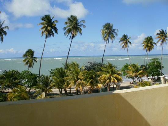 Loiza, Puerto Rico: view from our condo's roof top bar area
