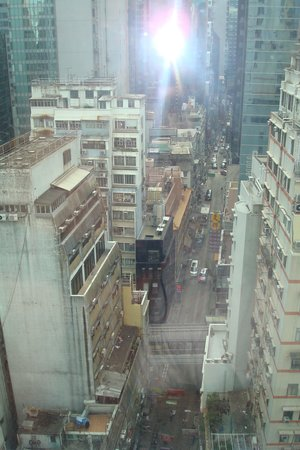 Butterfly on Wellington: View from the room ,level 6