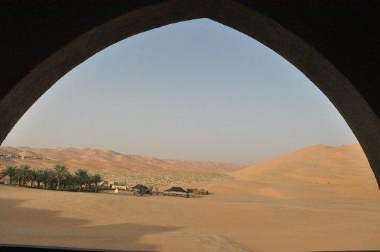 Qasr Al Sarab Desert Resort by Anantara: View from Terrace