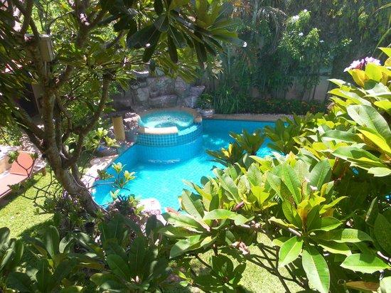 Le Viman Resort : une vue de notre chambre