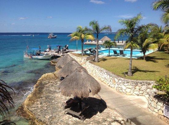 Blue Angel Resort: The pool