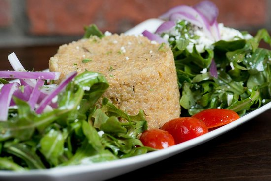The Couch Tomato Cafe' & Bistro: Quinoa Salad
